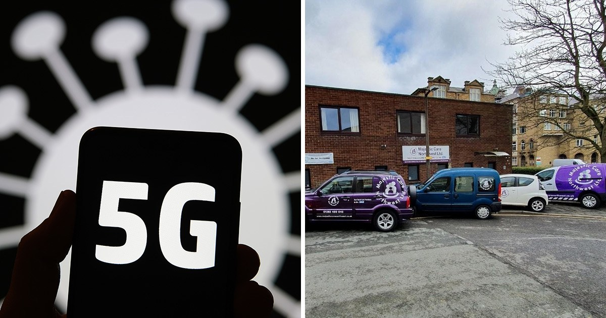 Care home boss whose phone lines were cut blames 5G conspiracy theory 'idiots'