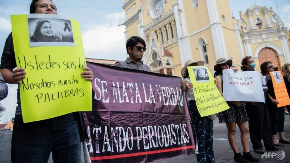 Missing journalist found murdered in Mexico's south