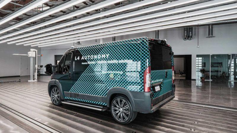 Karma debuts Level 4 autonomous all-electric (E-Flex) van