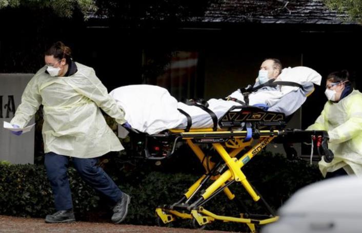 """美国养老院成疫情""""重灾区"""" 死亡病例已超3300例"""