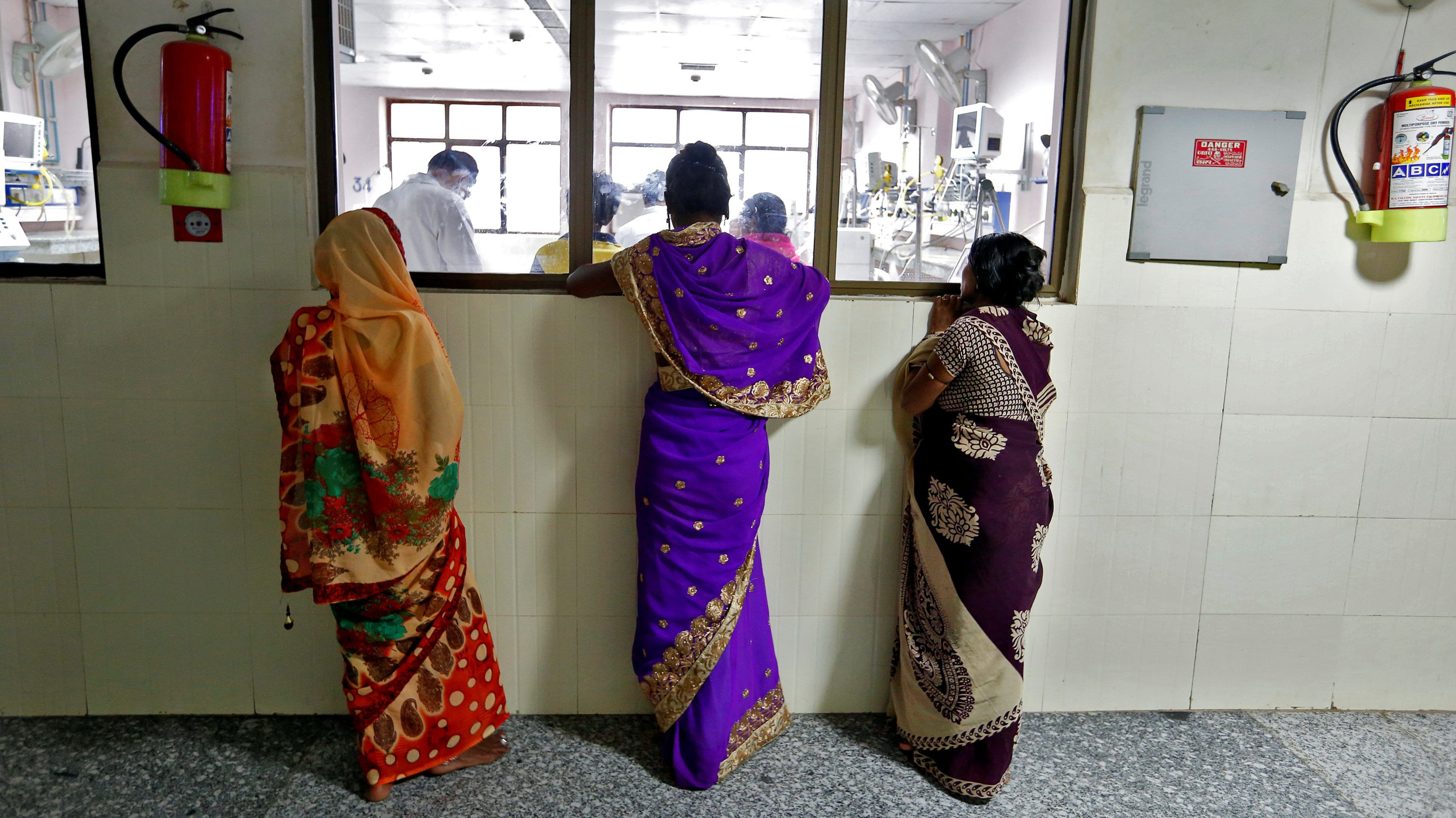 The chasm in India's healthcare system forces many people to turn to crowdfunding