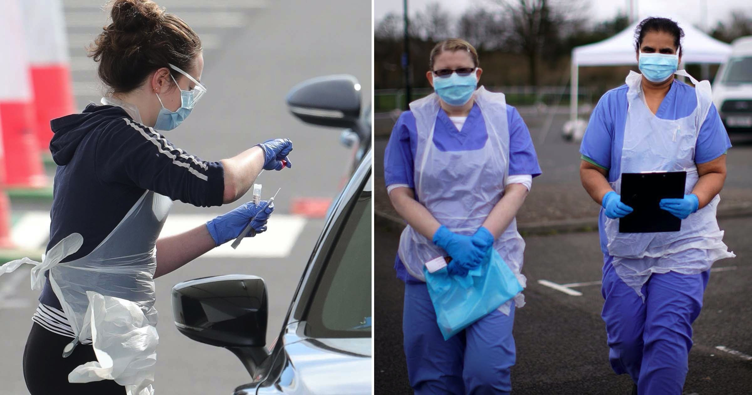 Nurses told 'don't treat patients' if they're given inadequate PPE
