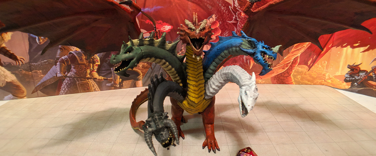 Superfan Makes 3D Models Of All Official D&D Monsters And They're Available For FREE