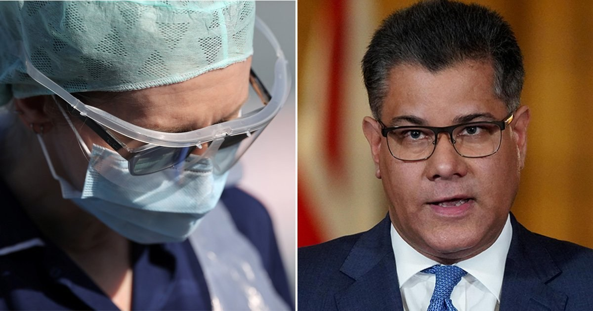 Minister sorry 'people feel' NHS doesn't have enough protective equipment