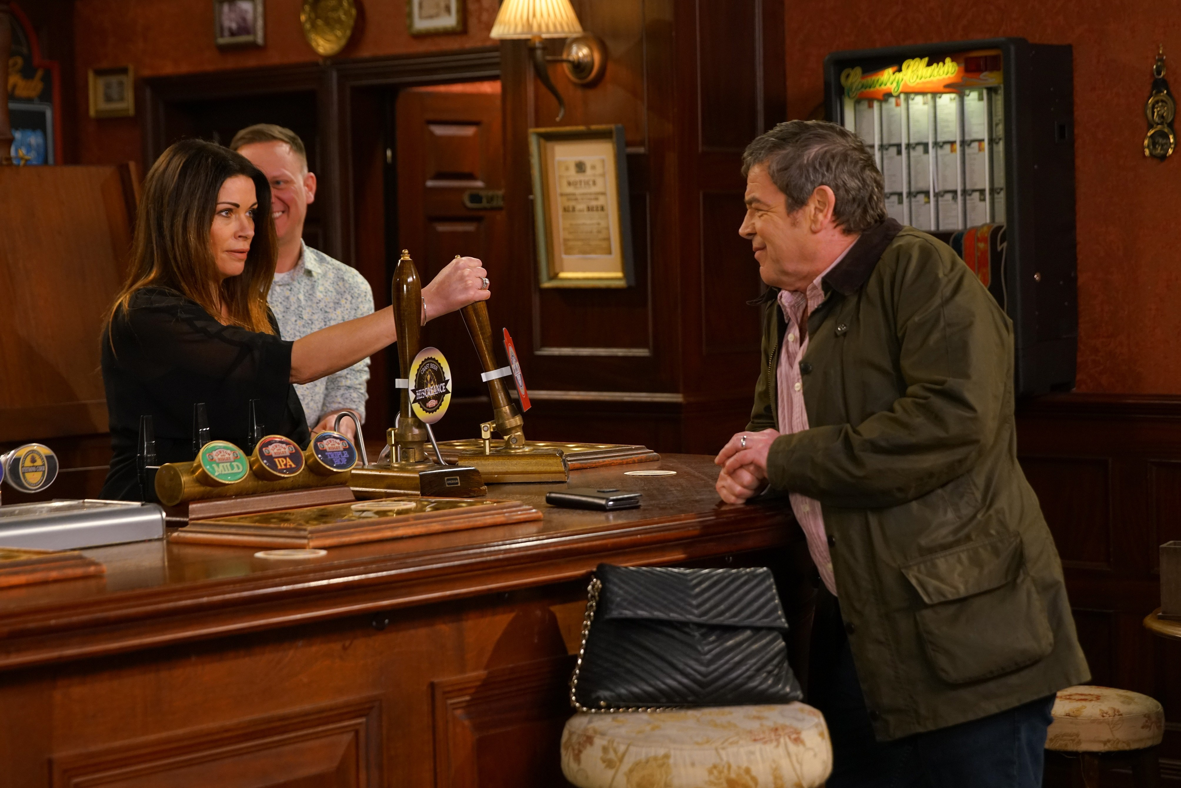 Coronation Street spoilers: Carla Connor and Peter Barlow take over the Rovers