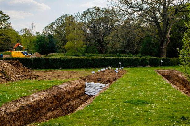 Coronavirus: Mass graves dug at London cemetery as Muslim community hit by pandemic