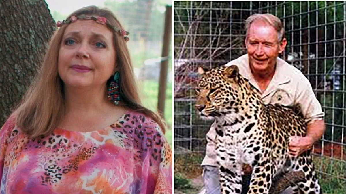 Tiger King's Carole Baskin claims missing husband Don Lewis showed signs of 'deteriorating' illness before he vanished
