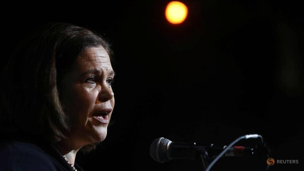 Sinn Fein leader says she has the coronavirus but is recovering