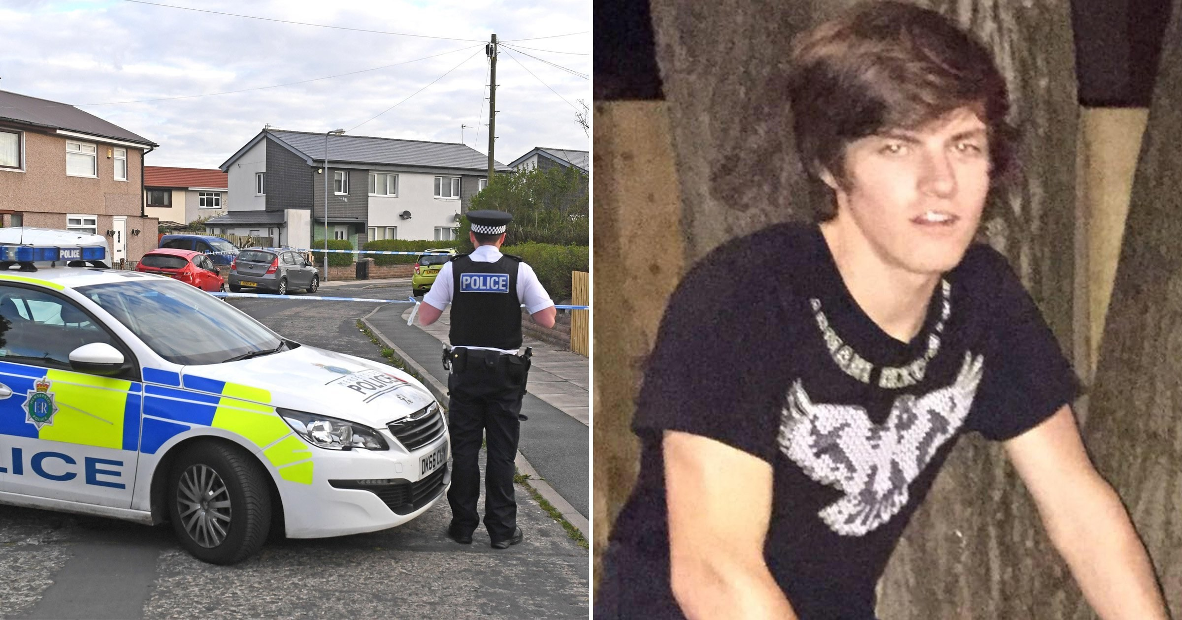 'Caring' son, 20, shot dead through kitchen window