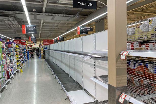 Supermarket boss gives coronavirus 'hoarder' the finger for trying to return toilet roll