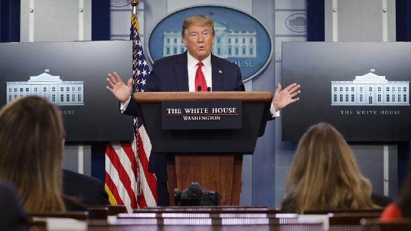 特朗普宣布 美国暂停金援世卫