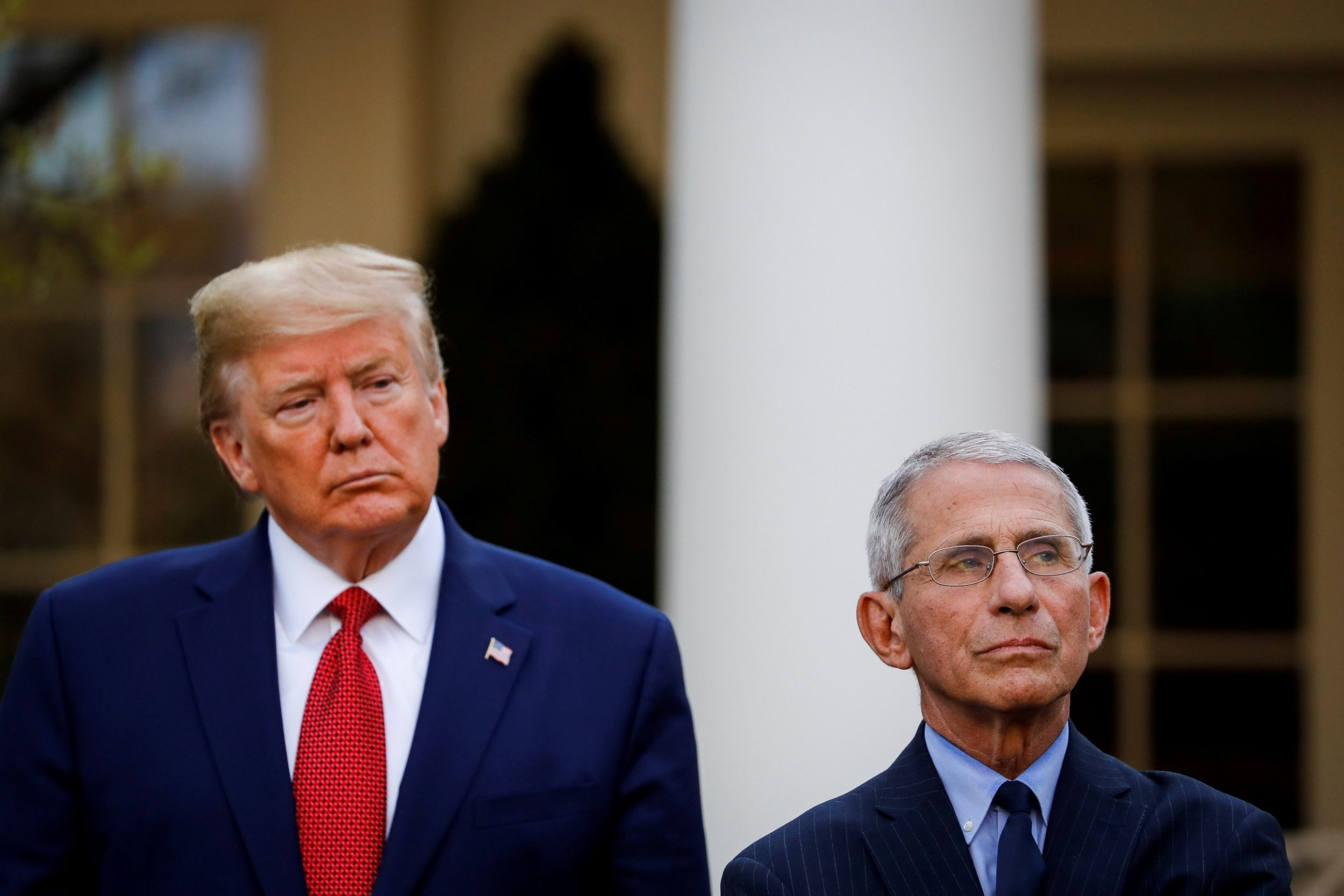 Donald Trump retweets call to fire Dr Fauci then says he will not ax Covid-19 expert