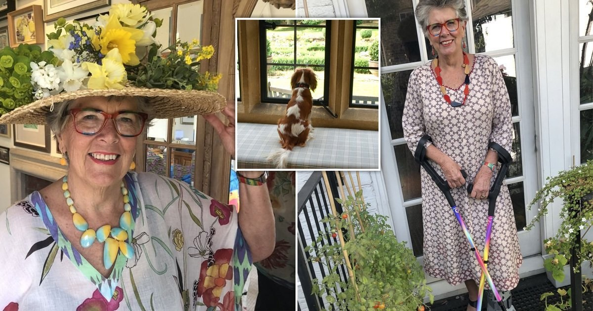 Inside Great British Bake Off star Prue Leith's beautiful Cotswolds home where she's self-isolating