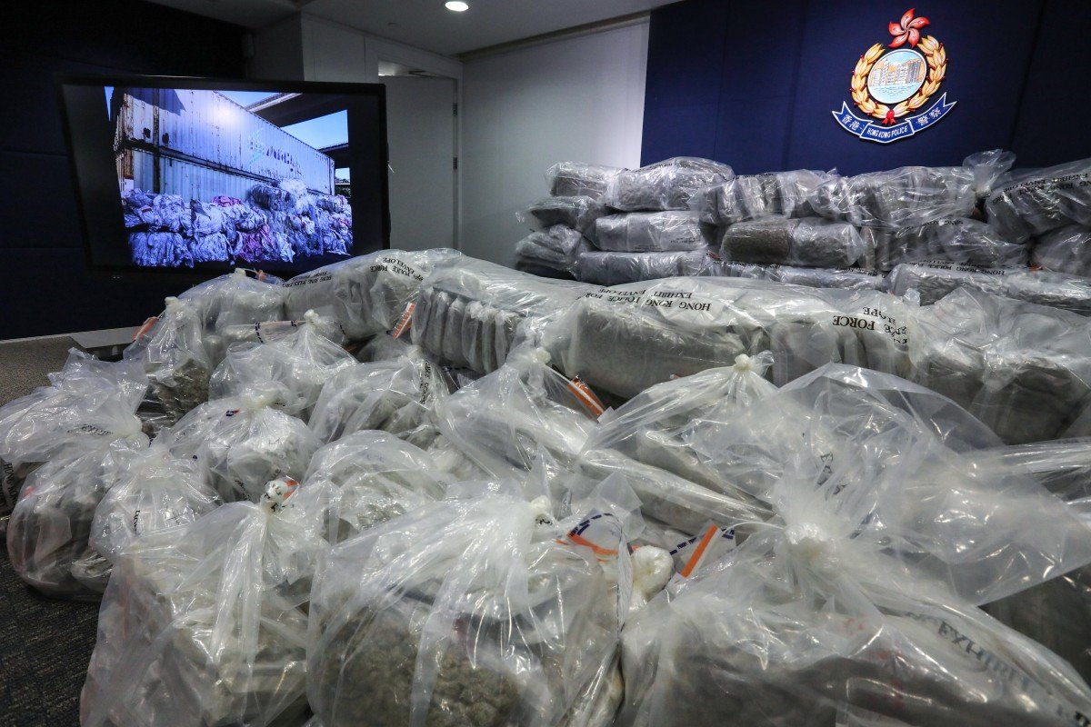 Police reach new heights with biggest cannabis bust in Hong Kong history