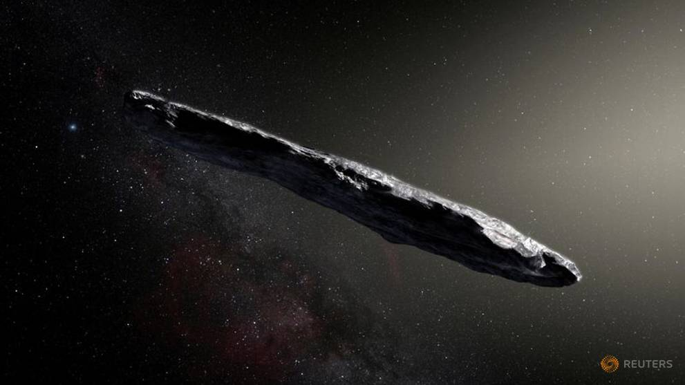 Cigar-shaped interstellar object may be fragment of wrecked planet