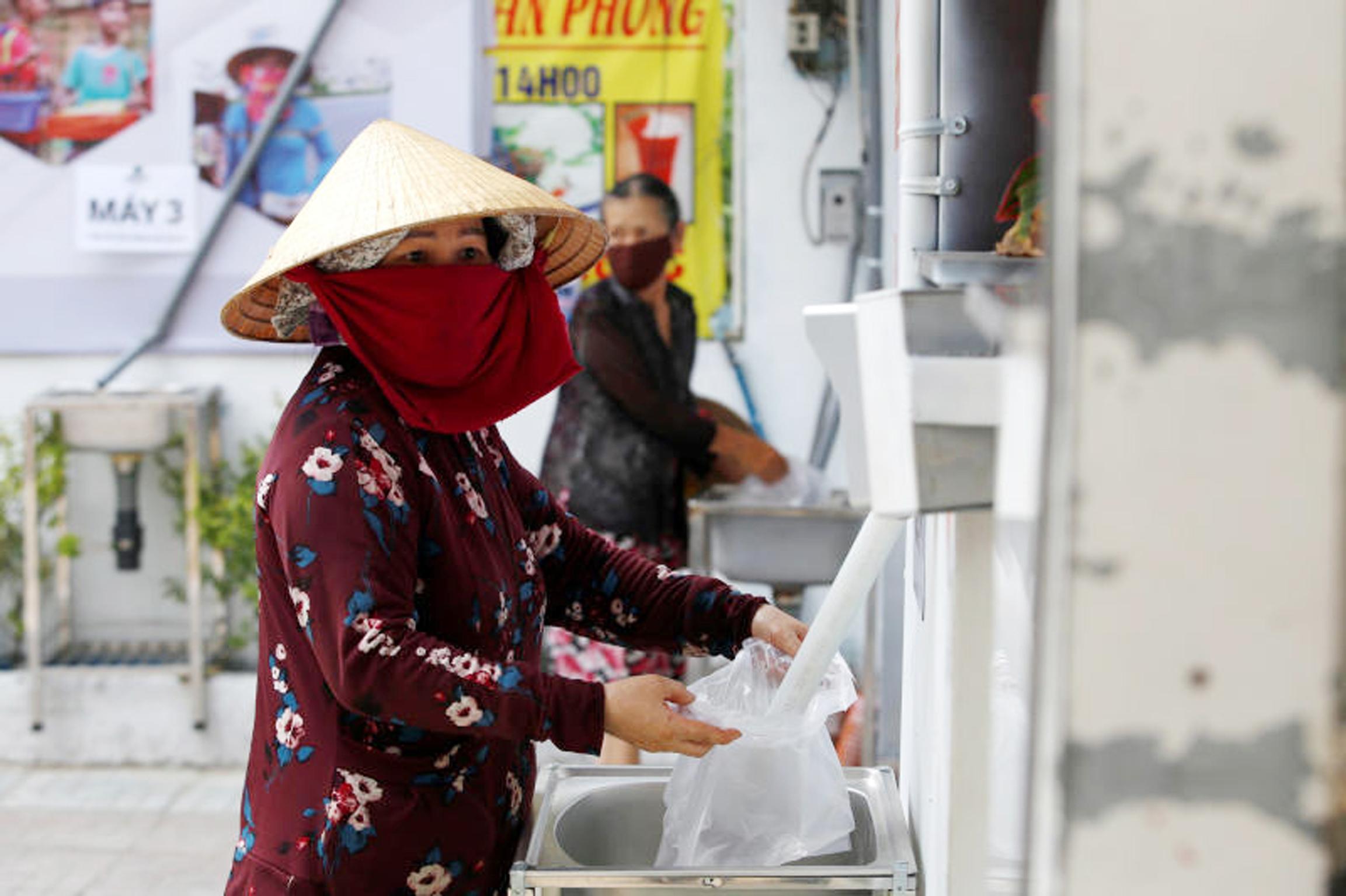 越南企业家发明「大米ATM」