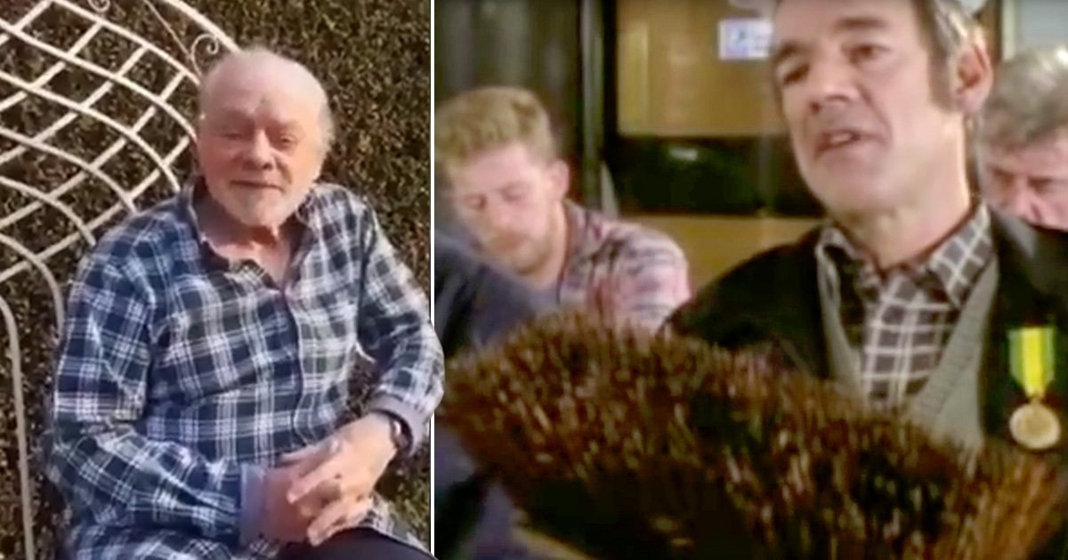 Only Fools and Horses star David Jason offers 'moral support' with unique social-distancing slogan as he admits he's struggling in lockdown
