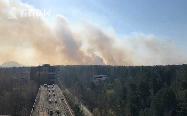切尔诺贝利大火被扑灭 辐射指标现在正常范围内