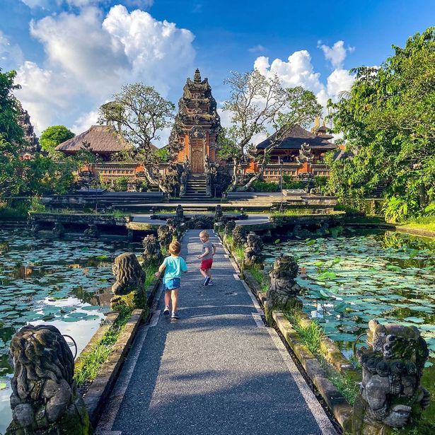 Brit family spending lockdown in Bali with toddlers after buying one way ticket out of UK