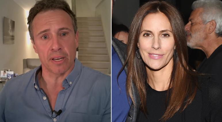 纽约州长弟弟、CNN主播克里斯·科莫的妻子确诊感染新冠病毒