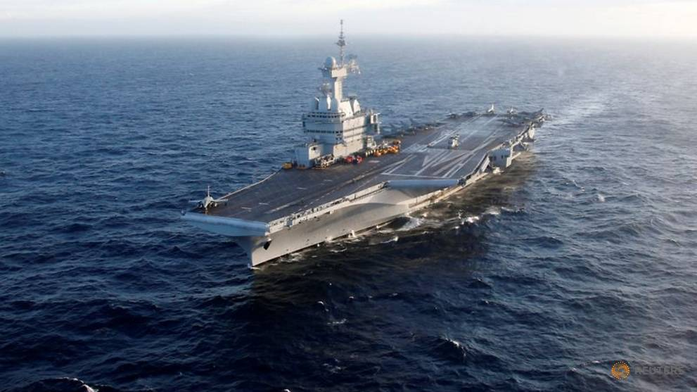 COVID-19 spreads on French aircraft carrier, hundreds infected