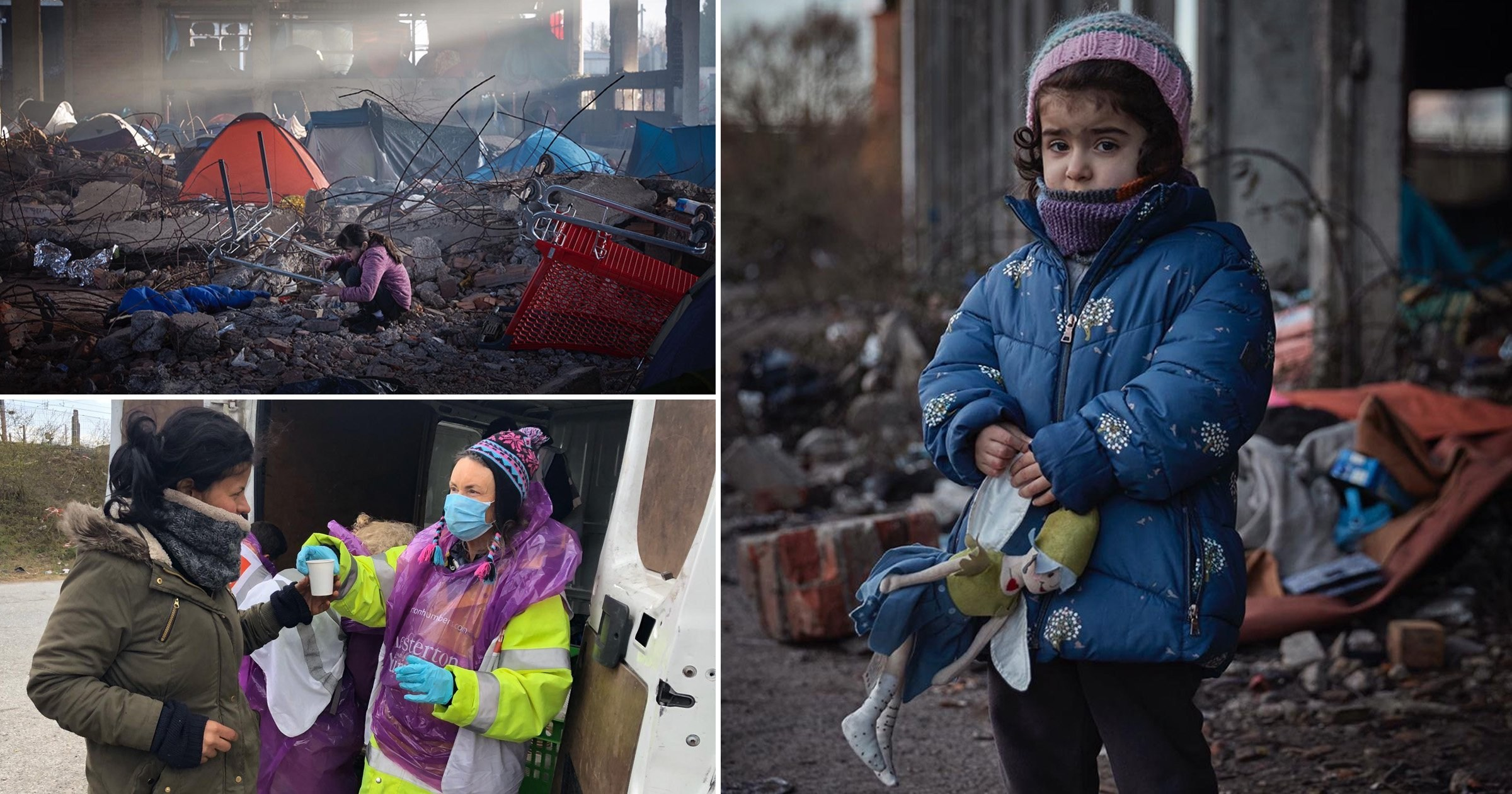 Fears refugees will die in 'filthy' camps as food supplies collapse