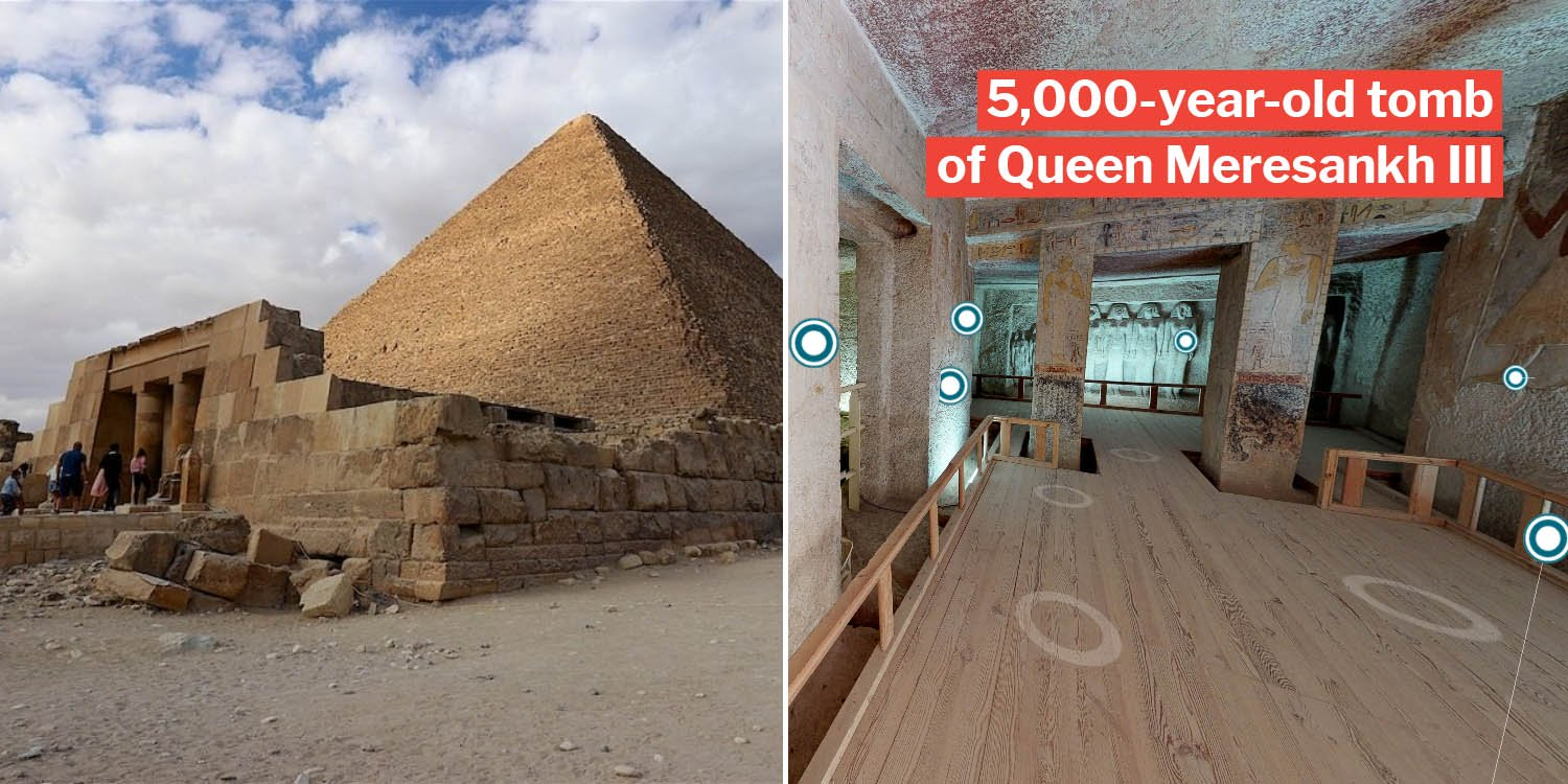 S'poreans stuck at home can visit this ancient egyptian tomb in virtual tour, almost like playing sims 4