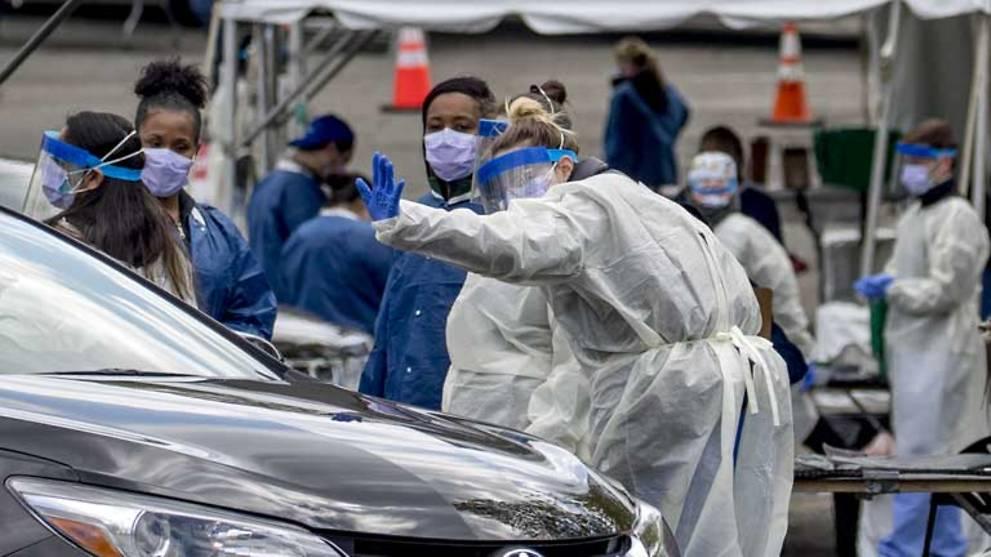 Seven US states extend coronavirus shutdown to May 15