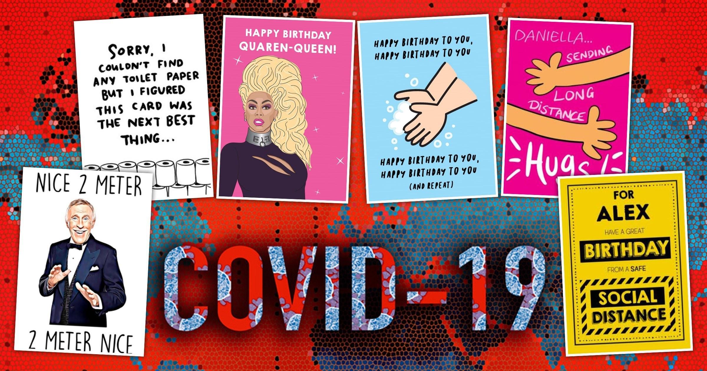 Where to get birthday cards during the coronavirus lockdown