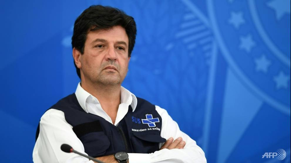 Brazil health minister sacked amid coronavirus crisis