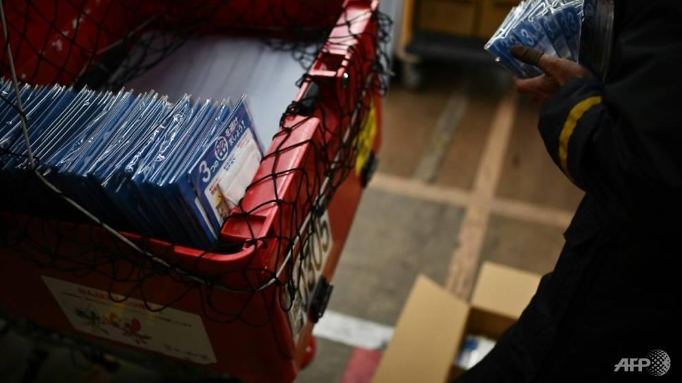 You've got mail: 'Abenomask' distribution starts in Japan