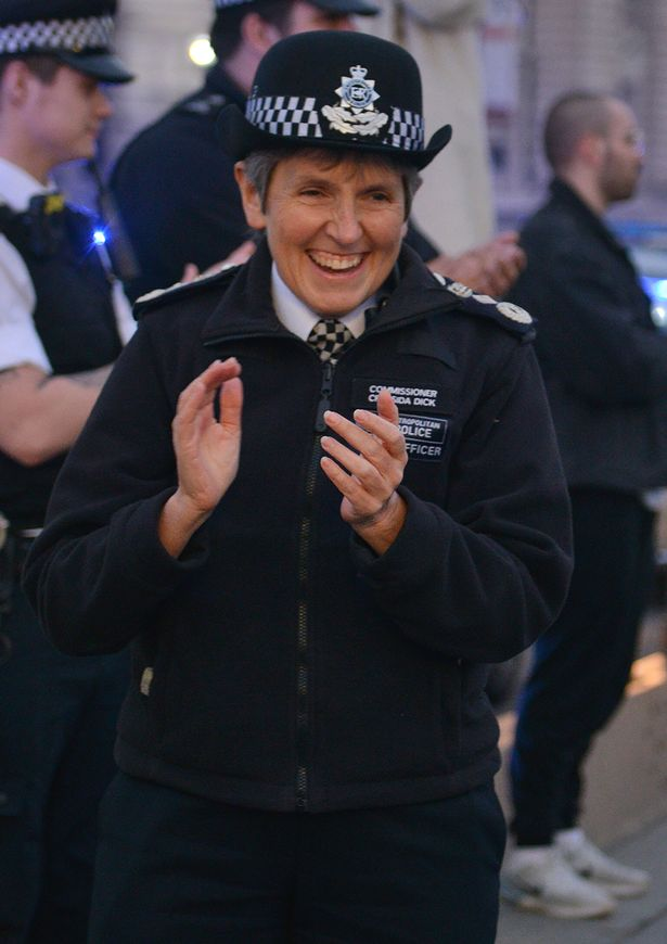 Met Police chief blasted for leading crowded Westminster Bridge NHS Clap For Carers