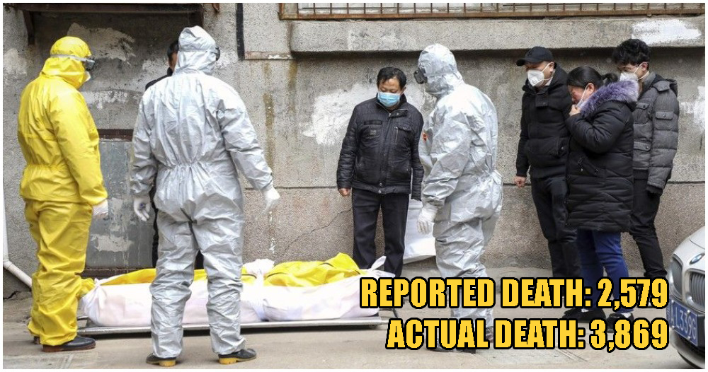China Admits Their Mistakes In Wuhan Covid-19 Death Toll, Real Number Is 50% More