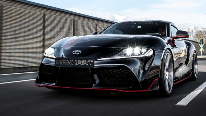 2020 Toyota Supra gets massive power bump from Manhart