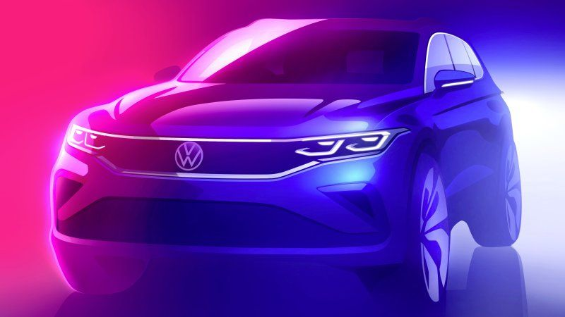 VW Tiguan getting a Golf-inspired makeover for 2022