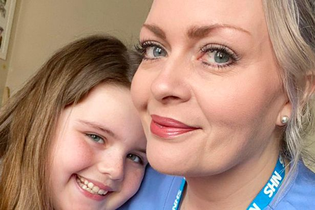 """Sobbing girl, 8, says """"I don't want you to die"""" before mum leaves for A&E shift"""
