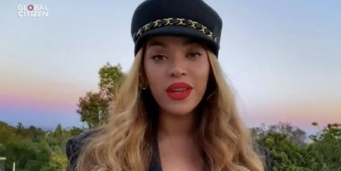 Beyoncé Shared a Powerful Surprise Message During the 'Together at Home' Concert