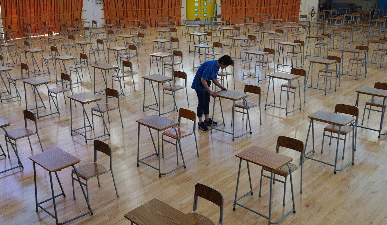 Coronavirus: Hong Kong students might return to half-day classes before summer break, education chief says