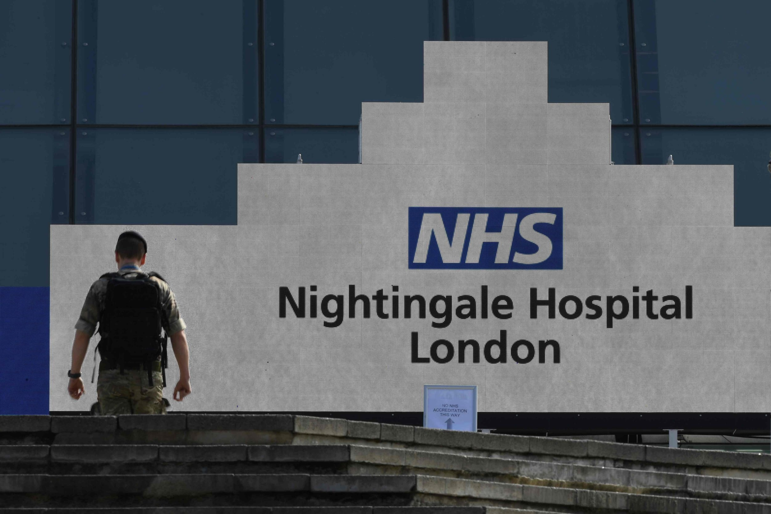 First two NHS Nightingale patients discharged after recovering from coronavirus