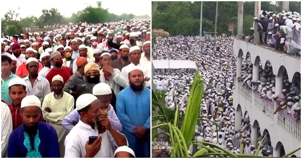 100,000 People Violate Bangladesh Lockdown to Attend Funeral of Popular Preacher