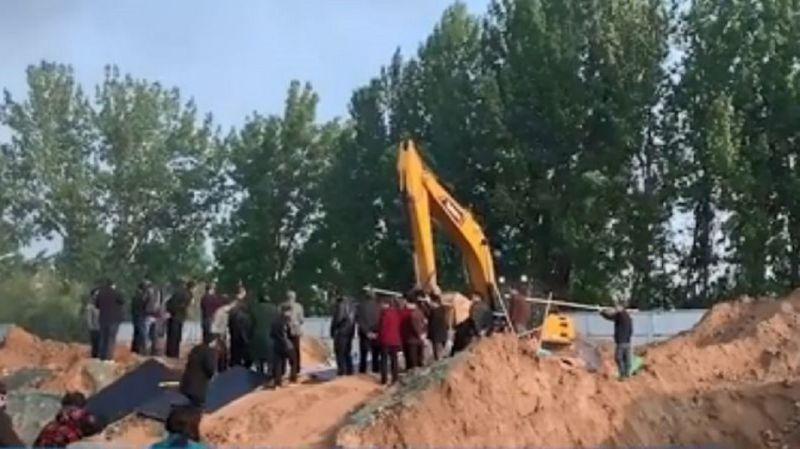建筑工地挖出4童尸·3家庭毁天伦