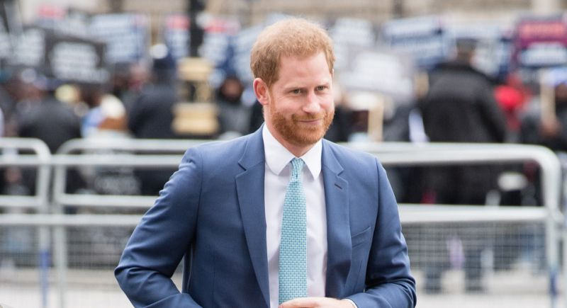 Prince Harry calls UK public's response to the coronavirus pandemic 'wonderfully British'