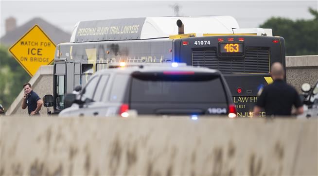 Bus Chase With Hijacker Ends in Fatal Shootout