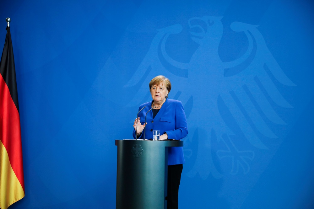 Merkel seeks Covid-19 restrictions extension in Germany into April