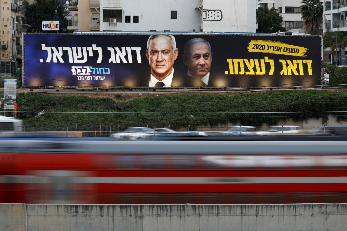 Coronavirus pandemic pushes Israel's Benjamin Netanyahu and Benny Gantz to sign unity government deal