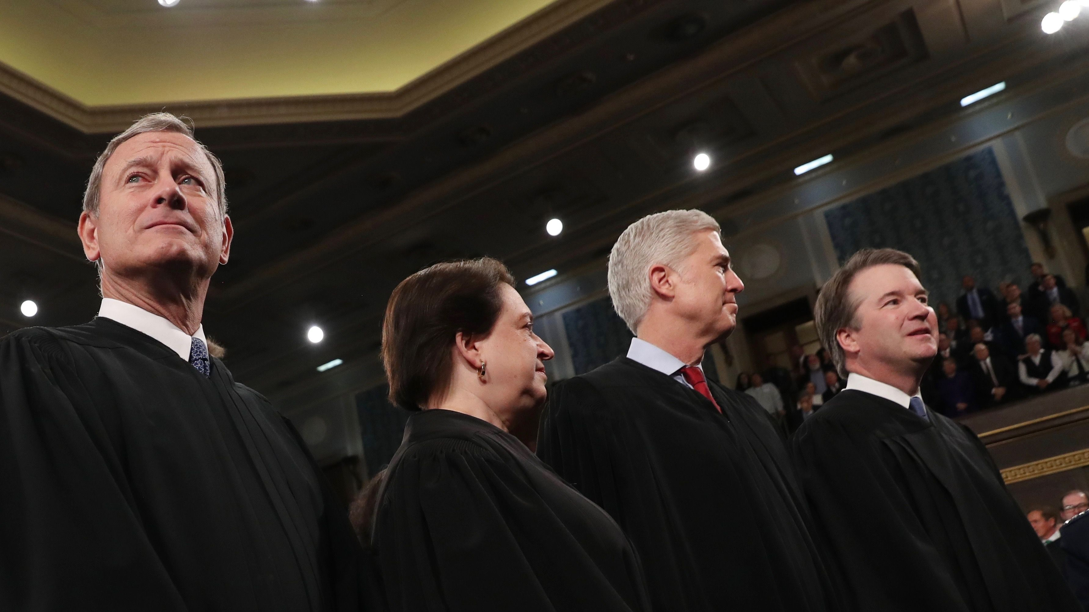 """US Supreme Court chief John Roberts takes aim at Neil Gorsuch's """"evocative"""" claims in EPA case"""