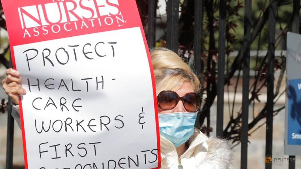 New York nurses sue state, hospitals over 'inadequate' COVID-19 protection
