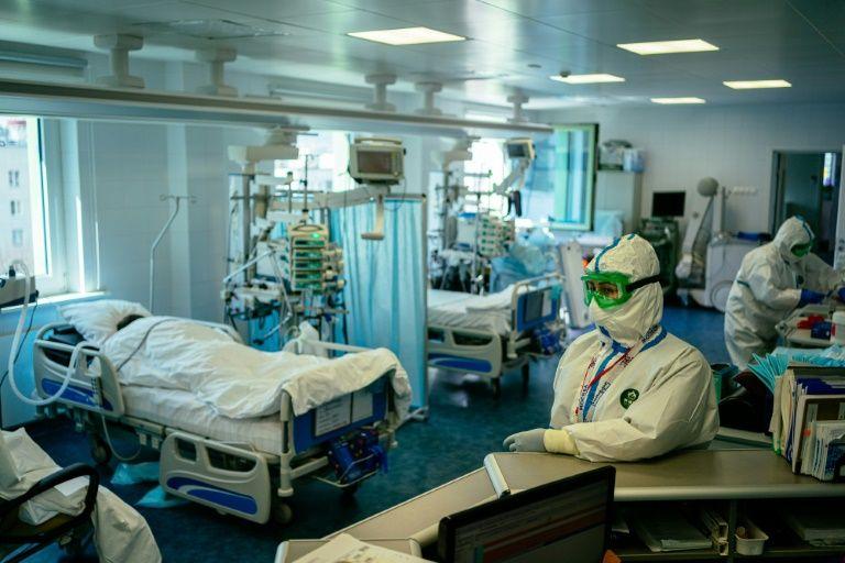 Luxury Moscow clinic becomes coronavirus 'battleground'