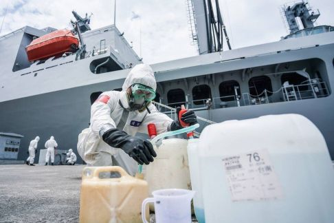 Taiwan navy under fire for letting sailors infected with coronavirus into community