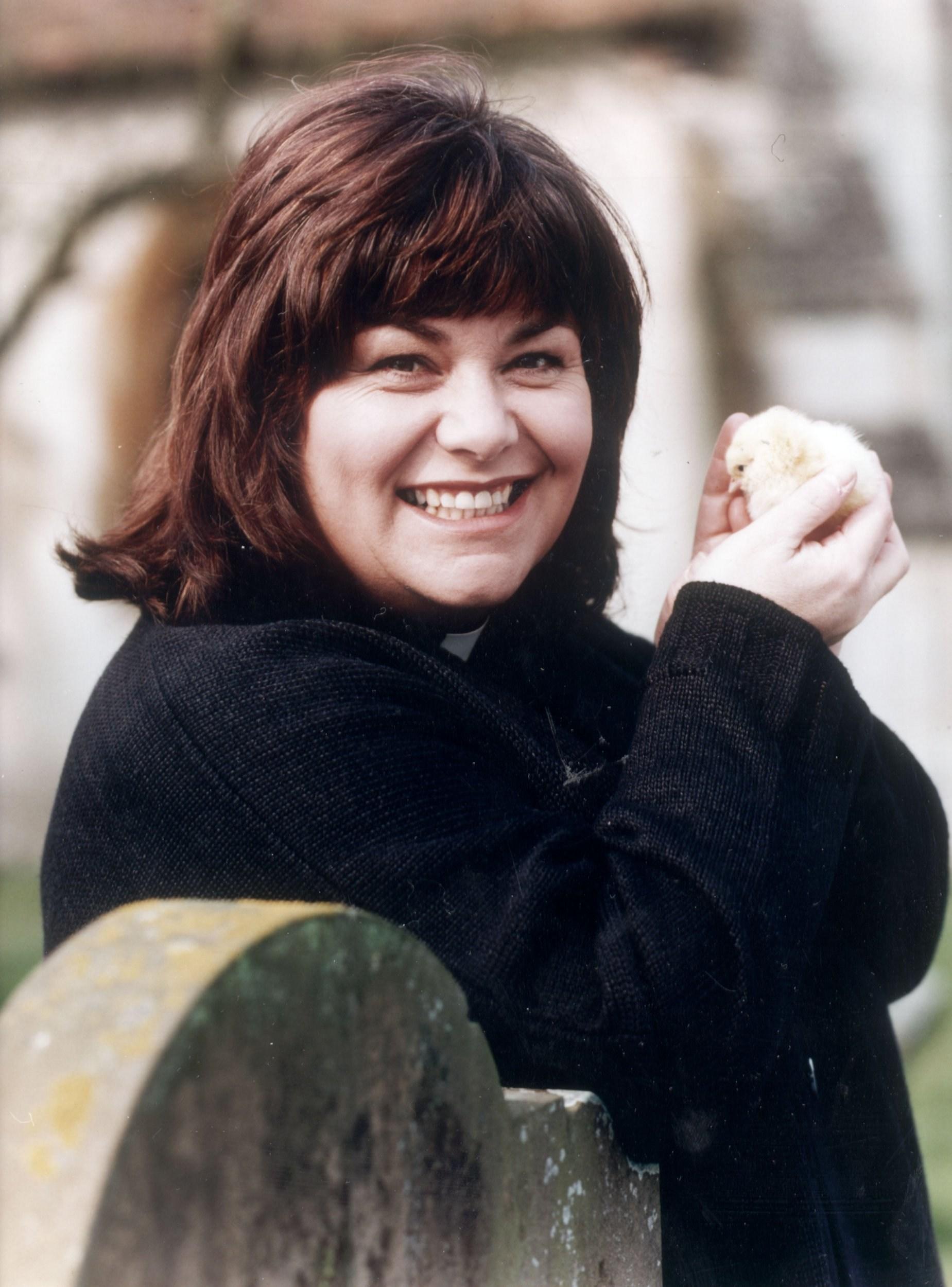 Vicar Of Dibley's first look sees Dawn French return as Geraldine in coronavirus lockdown